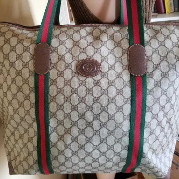 959e0edef0b97 Beautiful Vintage Gucci Tote